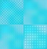 Cztery abstrakcjonistyczny tło Fotografia Stock