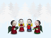 cztery anioły Obrazy Royalty Free