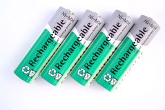 Cztery bateria Zdjęcie Royalty Free