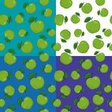 Cztery Bezszwowy wzór z Apple ilustracji