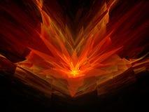 Cztery - dimensional kwiat Obrazy Stock