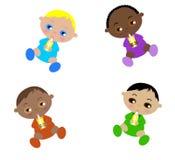 cztery dzieciaka Fotografia Royalty Free