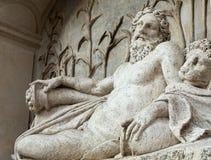 Cztery fontanny są grupą cztery Opóźnionej Renesansowej fontanny w Rzym, Obrazy Stock