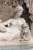 Cztery fontanny są grupą cztery Opóźnionej Renesansowej fontanny w Rzym Obraz Stock