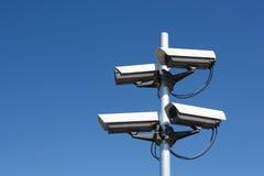 cztery kamery ochrony Obrazy Stock