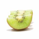 Cztery kiwi owoc odizolowywająca na białym tle Fotografia Royalty Free