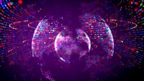 Cztery kolorowej sfery kłębi wśrodku zdjęcie royalty free