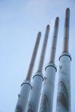 Cztery kominu W przekątnie Zdjęcia Stock