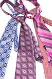 Cztery krawat supłający Zdjęcie Stock