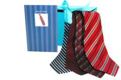 cztery krawata Zdjęcia Royalty Free