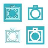 Cztery krzywka Fotografia Stock