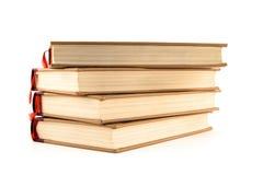 cztery książki hardcover white obrazy royalty free
