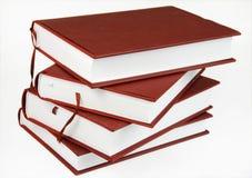 cztery książki teczkach Obraz Stock