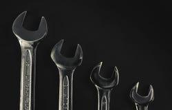 Cztery metalu wyrwania Zdjęcie Stock