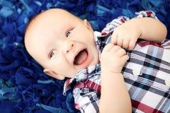 Cztery miesięcy Stara chłopiec Obraz Stock