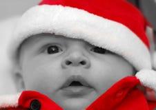 cztery miesiąc stary Santa Obrazy Royalty Free