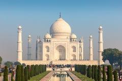 Cztery minaretów rama Taj Mahal, Agra, Uttar Pradesh, India fotografia royalty free