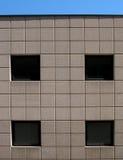 cztery okna Zdjęcie Stock