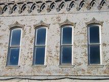 cztery okna zdjęcie royalty free