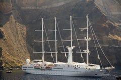 cztery omasztowywali żeglowanie statek Sorrento Zdjęcie Stock