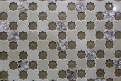 Cztery płatków kwiatu dekoraci materiał Obrazy Stock