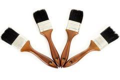 Cztery paintbrushes Obrazy Royalty Free