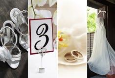 cztery pics Zdjęcia Royalty Free