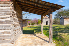 Cztery pionierskiego rolnego budynku Obraz Royalty Free