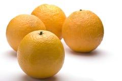 cztery pomarańcze Obrazy Stock