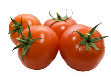 cztery pomidor Obrazy Stock