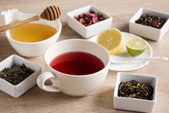 Cztery różna miła herbata Obraz Royalty Free