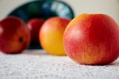 Cztery słodkiego jabłka Obrazy Royalty Free