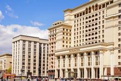 Cztery sezonów hotel Moskwa Obraz Stock