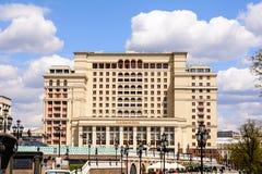 Cztery sezonów hotel Moskwa Zdjęcie Stock