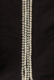 Cztery sznurka biała żołnierz piechoty morskiej perła Zdjęcie Royalty Free