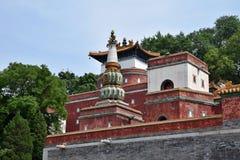 Cztery Wielkiego regionu z powodów lato pałac w Pekin Fotografia Royalty Free