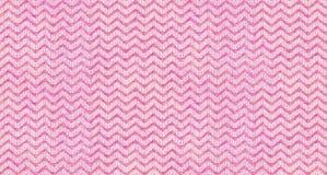 Czułej menchii róży trójboka kształta fala tekstury tekstylny bezszwowy deseniowy tło Powtórkowy trójbok tkaniny zygzag kształt t Obraz Stock