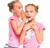czułość był podwójnym ekspozycją spanikowała jej jeden, siostry s show siostrzane bliźniak zdjęcie stock