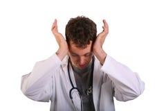 czuje nacisk student medycyny Fotografia Royalty Free