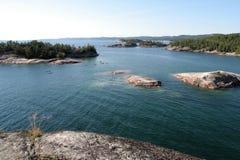 czujki creek kajaków sinclair przeglądu Fotografia Royalty Free