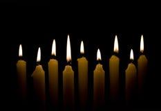 czuwanie przy świecach zdjęcia royalty free