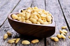 Czyścić arachidy Zdjęcia Stock