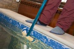 czyścić basen Zdjęcie Stock