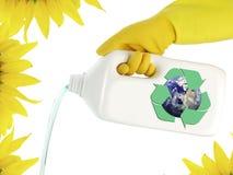 czyścić ekologiczny produkt zdjęcie stock
