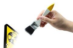 czyścić jądrowy ilustracja wektor
