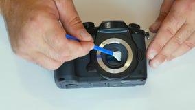 Czyścić kamery matrycę pył na matrycy brud na czujniku czujnika cleaning światłoczuła matryca zbiory