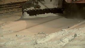 Czyścić kolejowi ślada od śniegu zbiory