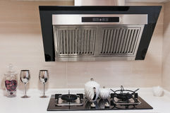 czyścić kuchnię nowożytną Fotografia Royalty Free