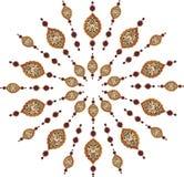 czyścić tradycyjnego projekta ottoman Obraz Stock