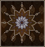 czyścić tradycyjnego projekta ottoman Zdjęcie Stock
